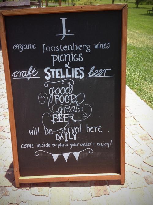 joostenberg-stelliesbeer and picnics