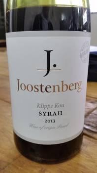 Joostenberg-Klippe-Kou-Syrah-2013
